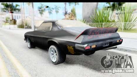 Holden Monaro 1972 Nightrider for GTA San Andreas left view