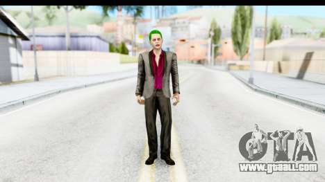Suicide Squad - Joker v2 for GTA San Andreas second screenshot
