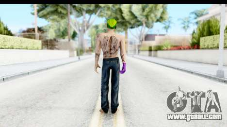 Suicide Squad - Joker v1 for GTA San Andreas third screenshot