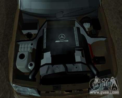 Mersedes-Benz E-500 Armenian for GTA San Andreas engine