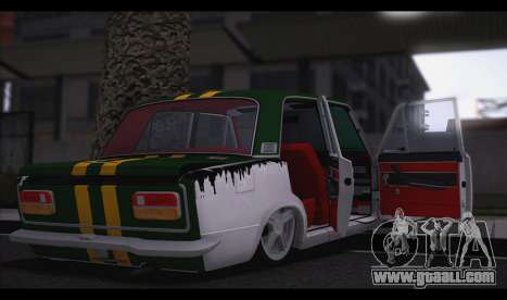 VAZ 2103 Beast for GTA San Andreas back left view