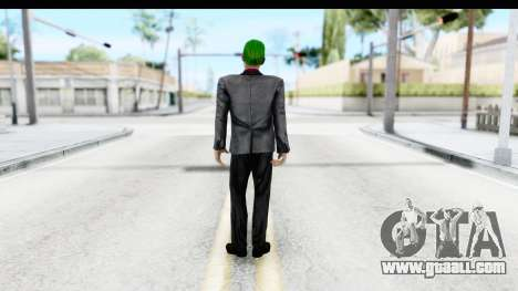 Suicide Squad - Joker v2 for GTA San Andreas third screenshot