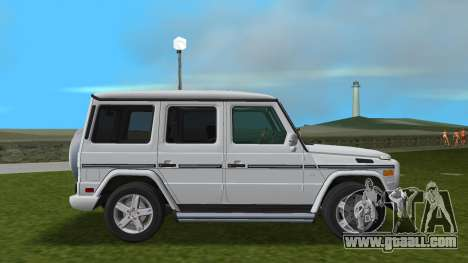 Mercedes-Benz G500 W463 2008 for GTA Vice City back view