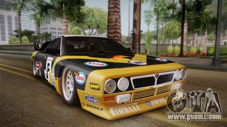 Lancia Rally 037 Stradale (SE037) 1982 IVF Dirt2 for GTA San Andreas back left view