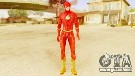 Injustice God Among Us Flash New 52 Edited Model for GTA San Andreas second screenshot