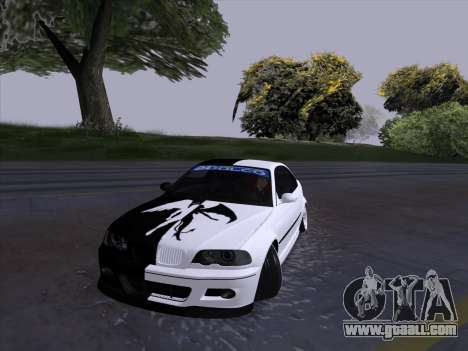 BMW E46 Good and Evil for GTA San Andreas