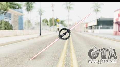 Inquisitor Lightsaber v3 for GTA San Andreas second screenshot