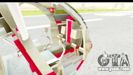Smaga Sparrow Helis Military Version for GTA San Andreas back view