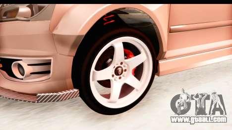 Audi S3 Slaam for GTA San Andreas back view