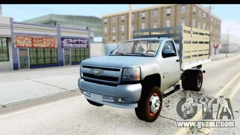 Chevrolet Silverado 2011 for GTA San Andreas
