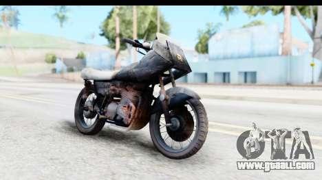 Kawasaki KZ900 1973 Mad Max 2 for GTA San Andreas right view