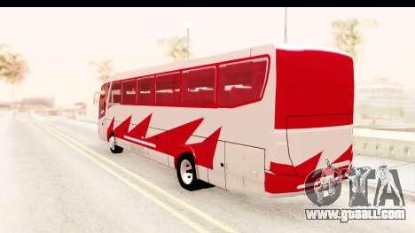 Smaga Bus for GTA San Andreas left view