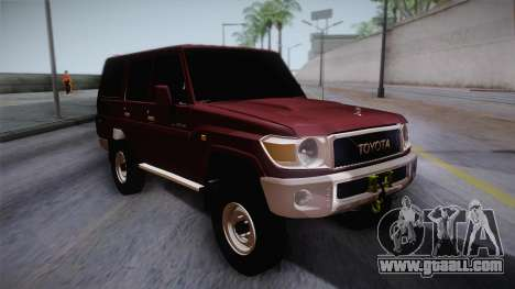 Toyota Land Cruiser 4 Puertas Original for GTA San Andreas