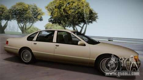 Declasse Premier 1992 SA Style for GTA San Andreas left view