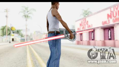 Inquisitor Lightsaber v1 for GTA San Andreas third screenshot