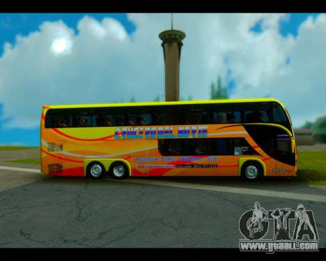 Metalsur Starbus II CRUCERO DEL NORTE for GTA San Andreas back left view
