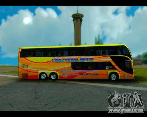 Metalsur Starbus II CRUCERO DEL NORTE for GTA San Andreas back left view