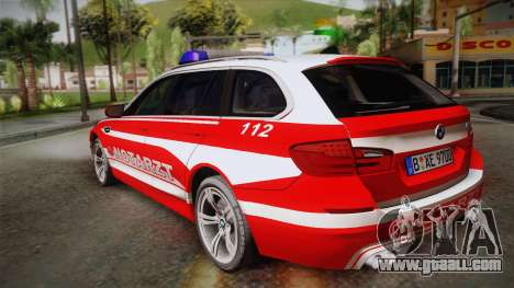 BMW M5 Touring NEF for GTA San Andreas left view