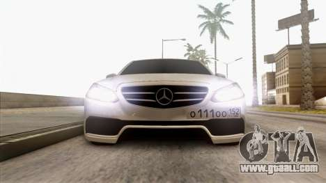 Mercedes-Benz E63 v.2 for GTA San Andreas side view