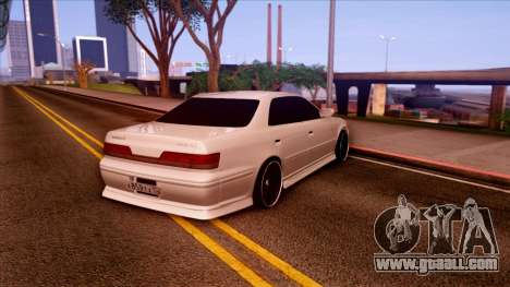 Toyota Mark II for GTA San Andreas back left view