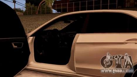Mercedes-Benz Е63 for GTA San Andreas interior