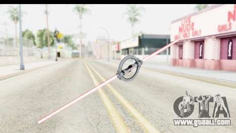 Inquisitor Lightsaber v2 for GTA San Andreas second screenshot