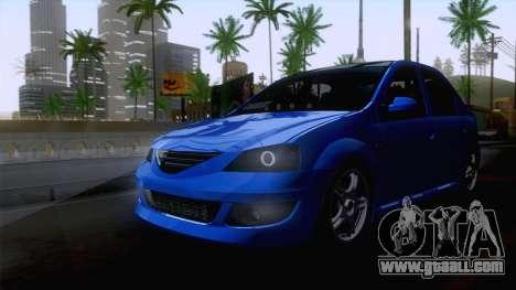 Dacia Logan Cocalar Edition for GTA San Andreas right view