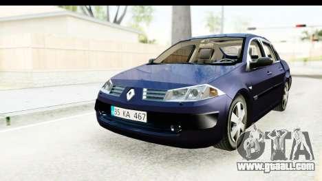 Renault Megane 2 Sedan 2003 v2 for GTA San Andreas