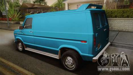Ford E-150 Commercial Van 1982 2.0 for GTA San Andreas left view