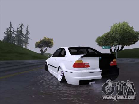 BMW E46 Good and Evil for GTA San Andreas right view