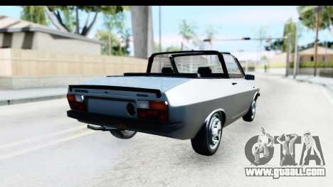 Dacia 1300 Sport Cabrio for GTA San Andreas left view
