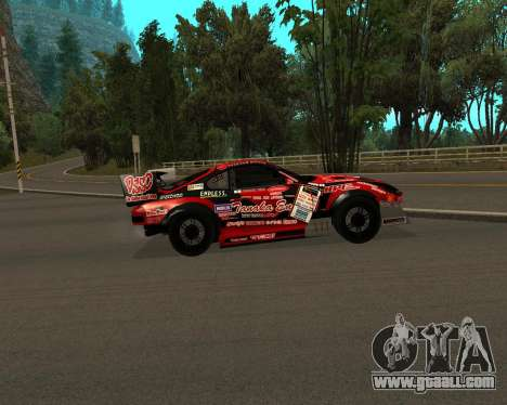 D1GP Toyota Supra Hadaka Supra JZA80 for GTA San Andreas back left view