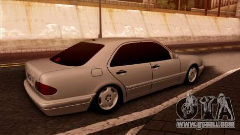 Mercedes-Benz E420 for GTA San Andreas back left view