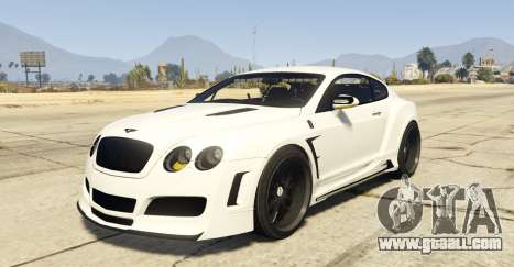Undercover Bentley Continetal GT 1.0 for GTA 5