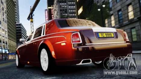 Rolls-Royce Phantom EWB 2013 for GTA 4 right view