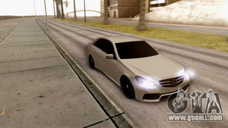 Mercedes-Benz E63 v.2 for GTA San Andreas left view