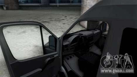 Mercedes-Benz Sprinter for GTA San Andreas interior