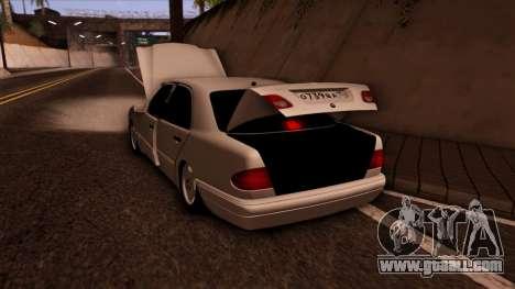 Mercedes-Benz E420 for GTA San Andreas upper view