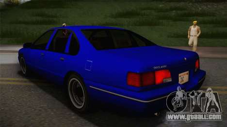 Declasse Premier 1992 IVF for GTA San Andreas left view