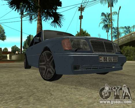 Mersedes-Benz E-500 Armenian for GTA San Andreas left view