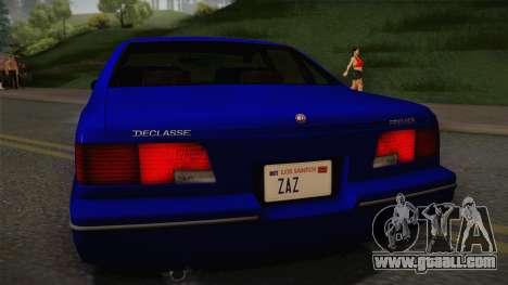 Declasse Premier 1992 IVF for GTA San Andreas right view