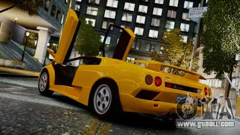 Lamborghini Diablo VT 1990 for GTA 4 left view