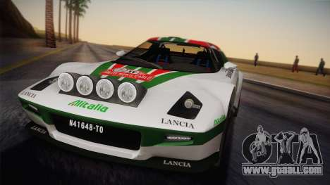 Lancia Stratos for GTA San Andreas right view