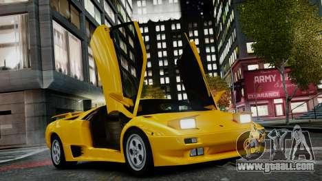 Lamborghini Diablo VT 1990 for GTA 4
