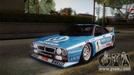 Lancia Rally 037 Stradale (SE037) 1982 IVF Dirt1 for GTA San Andreas engine