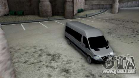Mercedes-Benz Sprinter for GTA San Andreas side view
