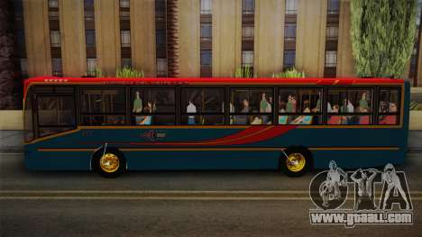 Nuovobus MB OF1418 Linea 302 for GTA San Andreas back left view