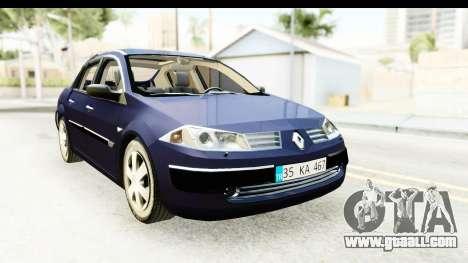 Renault Megane 2 Sedan 2003 v2 for GTA San Andreas right view