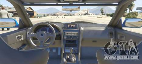 Nissan Skyline GT-R V-Spec R34 for GTA 5