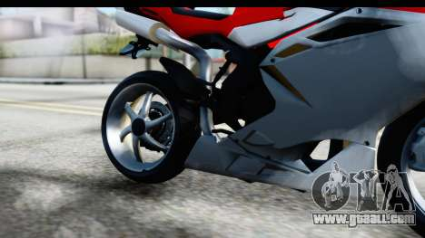 MV Agusta F4 for GTA San Andreas inner view